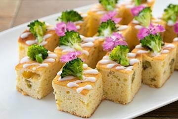 彩の国のブロッコリーのパウンドケーキ