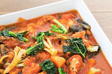 〈さいたまヨーロッパ野菜〉のバスク風煮込み