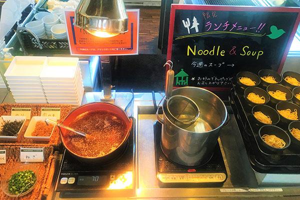 【復活】お好み仕上げの「Noodle&Soup」