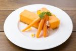 川越産ニンジンのレアチーズケーキ
