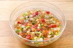 彩り夏野菜と川越産トマトゼリーのカクテルサラダ